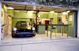 Jack Olsen's garage