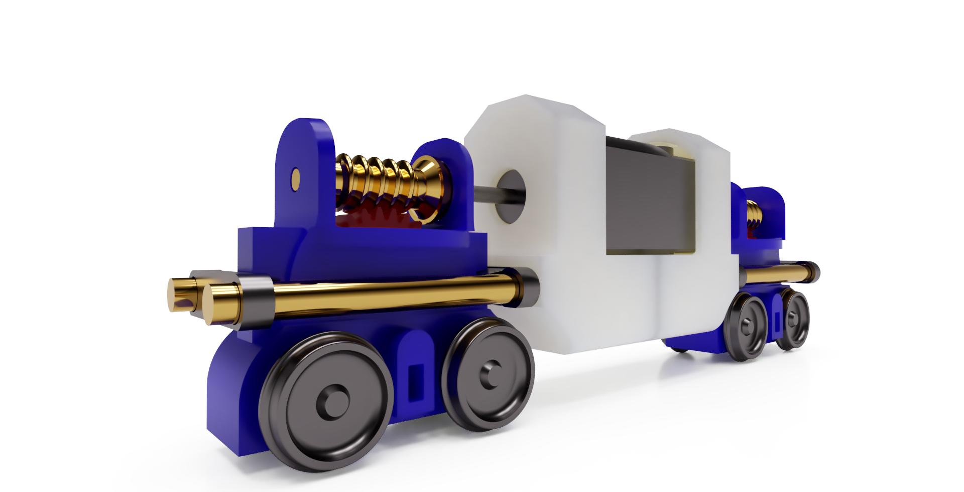 Uni-Rail Powered Chassis – J Kelly Craft & Trade